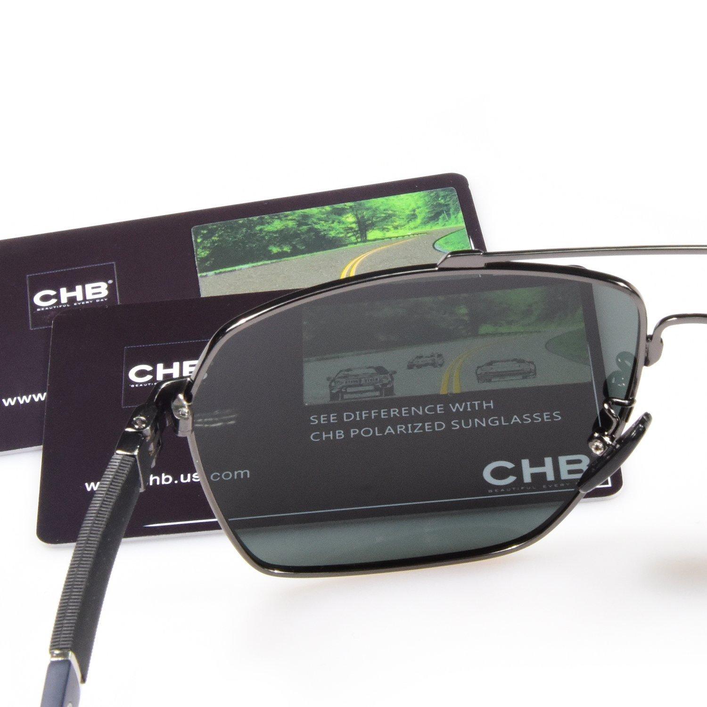 Hombre Gafas de Sol Polarizadas Aviador UV 400 Protección Gafas Ligeras con Estuche (Verde 1): Amazon.es: Ropa y accesorios