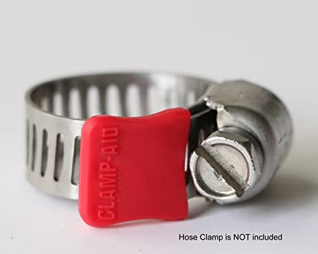 Hose Cl& Safety Guards by Cl&-aid. For 5/16u0026quot; wide bands & Amazon.com : Hose Clamp Safety Guards by Clamp-aid. For 5/16