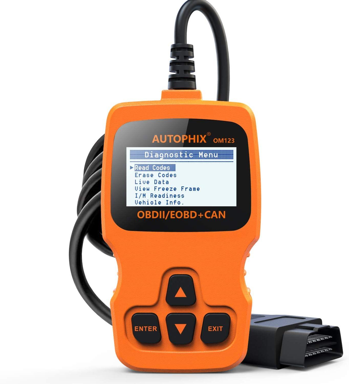 Autophix Obd2 Diagnosegerät Auto Code Reader Zum Lesen Und Löschen Von Fehlercodes Funktioniert Bei Allen Pkws Mit Obd Ii Protokolle Und Mit Standardem 16 Pin Obd Ii Schnittstelle Bj Ab 2000 Auto