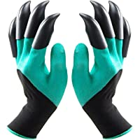 Ezonedeal Garden Gloves with Claws, Waterproof and Breathable Garden Gloves for Digging Planting, Best Gardening Gifts…
