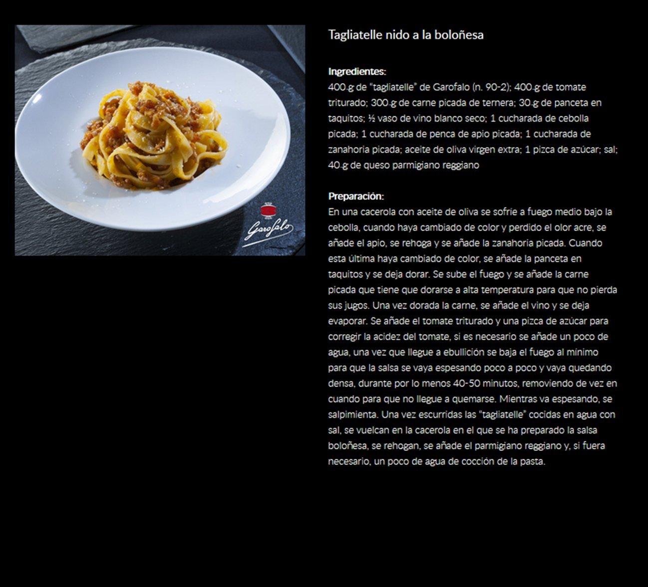 Tagliatelle Nido Garofalo 12X500 500 Gr - [Pack De 12] - Total 6 Kg: Amazon.es: Alimentación y bebidas