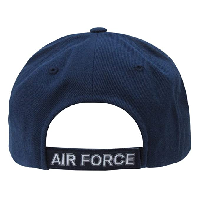 352860ec8eddc Amazon.com  United States US Air Force official seal design baseball cap   Sports   Outdoors