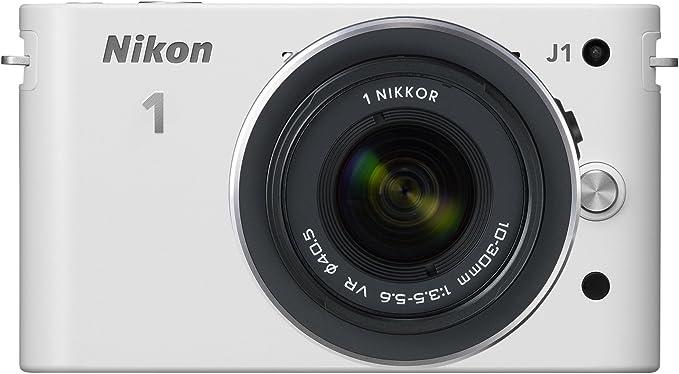 Nikon 1 J1 Systemkamera 3 Zoll Weiß Inkl 1 Nikkor Vr Kamera