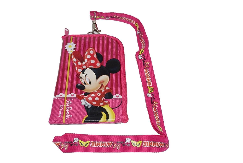Disney Minnie Mouse Cordón Rosa con Funda para teléfono ...