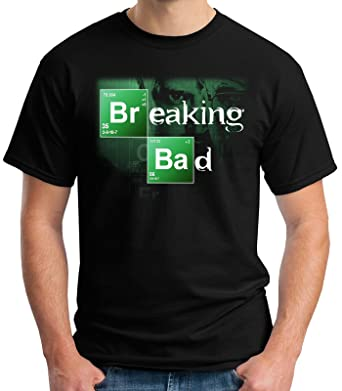 466a36ce7 35mm - Camiseta Hombre Breaking Bad - Series - TV - T-Shirt  Amazon.es  Ropa  y accesorios