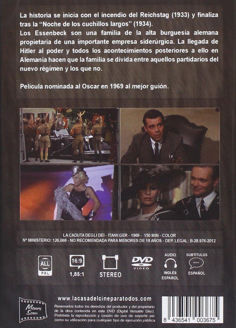 La Caída De Los Dioses [DVD]: Amazon.es: Dirk Bogarde ...
