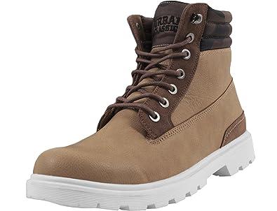 Urban Classics Herren Winter Boots Chukka, Braun (Brown/Darkbrown), 37 EU