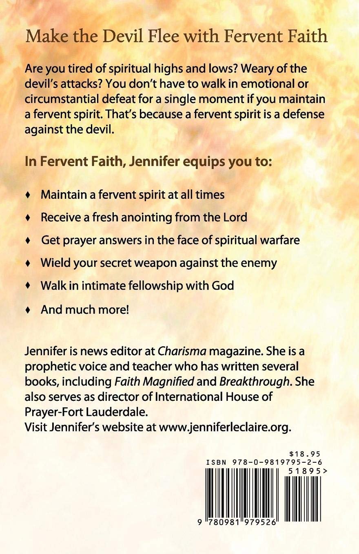 Fervent Faith: Discover How a Fervent Spirit Is a Defense