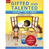Gifted and Talented COGAT Test Prep Grade 2: Gifted Test Prep Book for the COGAT Level 8; Workbook for Children in Grade…