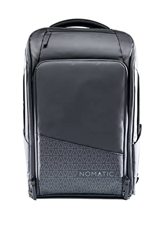 Nomatic mochila delgada resistente al agua antirrobo 20l bolsa de ordenador portátil rfid protegida negro: Amazon.es: Electrónica