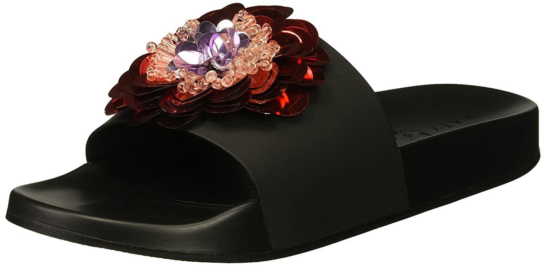 Katy Perry Women's The Darce Slide Sandal B073WNJXWZ 11 B(M) US|Black