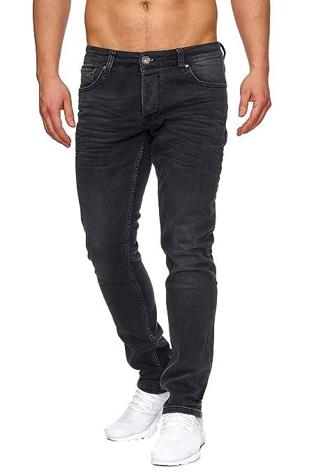 Tazzio Slim Fit Herren Styler Look Stretch Jeans Hose Denim 16533