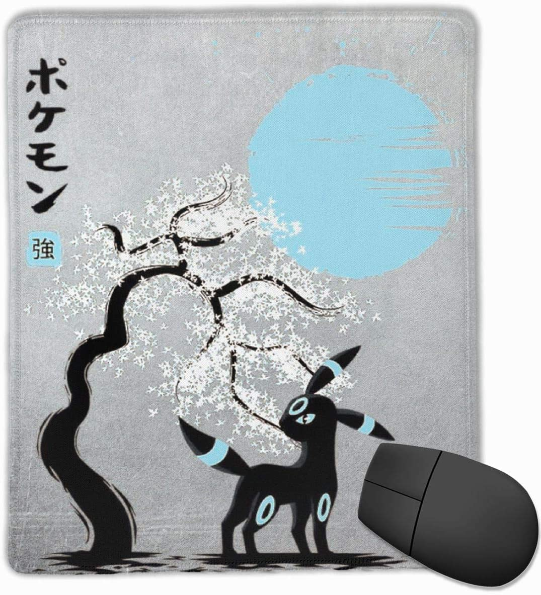 Poke-mon Umbreon Japanese Style Mouse Pad Laptop Office Supplies Gaming Mouse Pad Fit Desktop Personal Computer Console