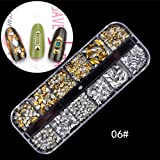 Niome 3D Nail Art Decals DIY Nails Decoration Tips Charms Accessories for Nails