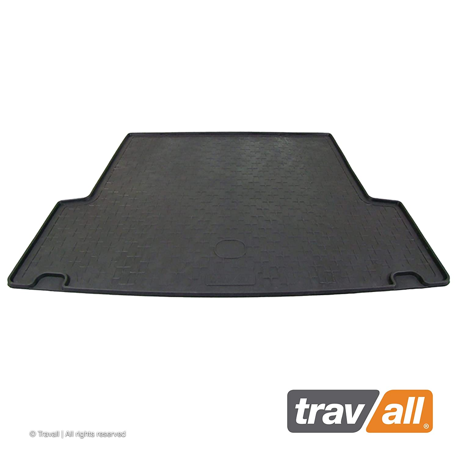 Travall Liner TBM1038 Vehicle-Specific Black Rubber Boot Mat Liner