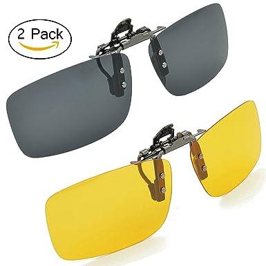 bbbf603719 Amazon.com  SOLAR SHIELD Clip-on Polarized Sunglasses Size 48 Rec 4 Brown  Full Frame NEW  Shoes