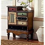Furniture of America Neche Multi-Color Accent Drawer Chest, 22 x 22 x 21 inches