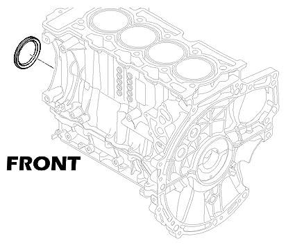 Amazon Com Mini Cooper Cooper S Front Crankshaft Seal Value Line