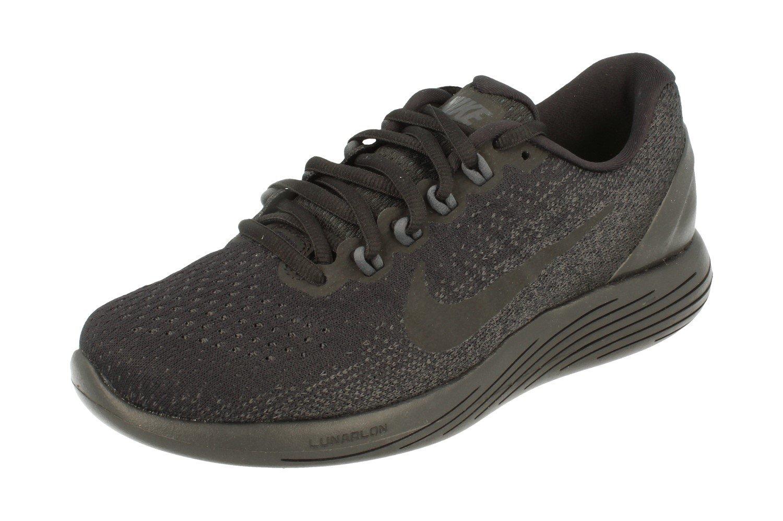 NIKE Women's Lunarglide 9 Running Shoe B07DQM1S55 6.5 B(M) US|Black Anthracite Volt 007