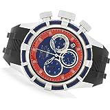 Invicta 50mm Bolt Quartz Chronograph Silicone Strap Watch-22155