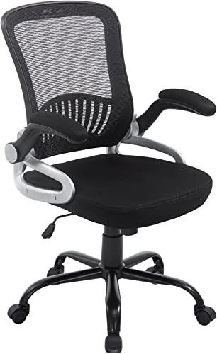 POLY BARK Hargrove Office Chair, Black