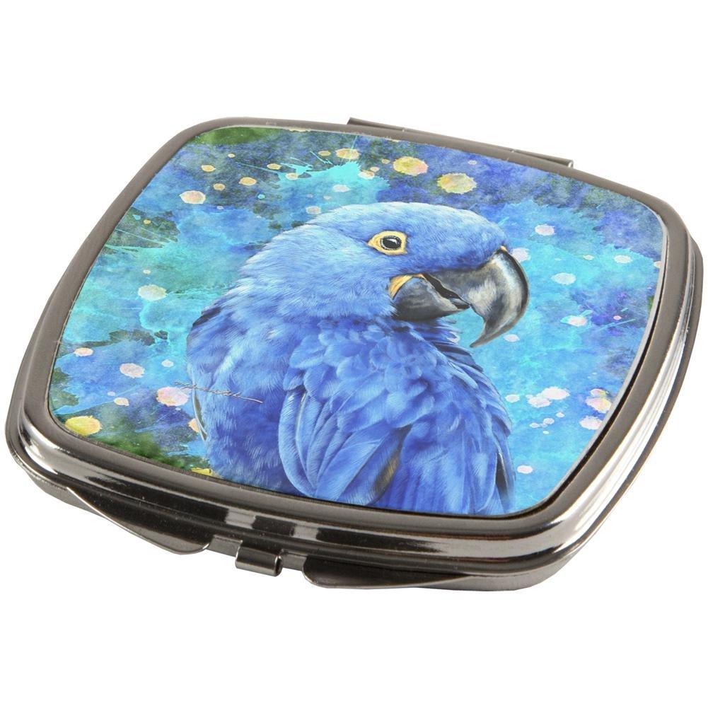 Blue Hyacinth Macaw Splatter Compact Multi Standard One Size