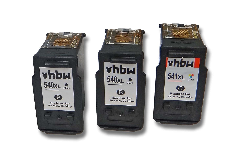 vhbw Cartucho de impresión Cartuchos de Tinta para Canon ...
