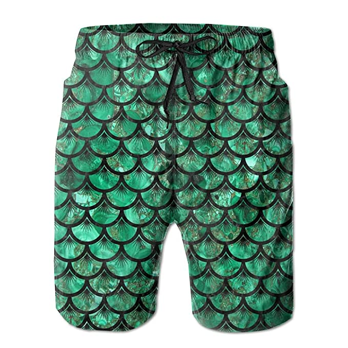 fc6c90e249 Amazon.com: Egg Egg Quick-Dry Sea Grass Of Mermaid Mackerel Men's Swim  Trunks Beach Board Shorts Surfing Shorts Bathing Suits Swimwear: Clothing