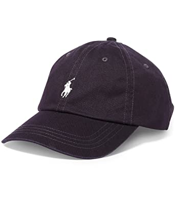 370a922234d8 Polo Ralph Lauren Mens Twill Classic Ball Cap at Amazon Men s Clothing store   Ralph Lauren Cap Leather