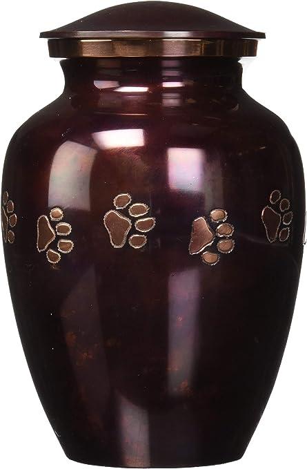 Brass Made Love Bird Medium Pet Cremation Urn for Ashes