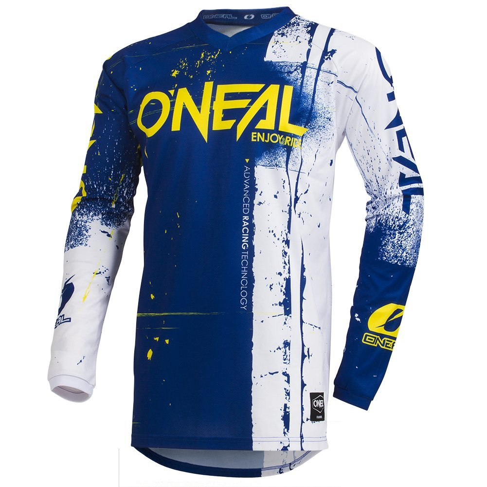 ONeal Mens Element Shred Jersey Black, Large
