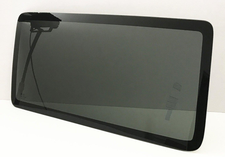 NAGD Compatible with 2011-2017 Jeep Wrangler Driver Side Left Quarter Window Glass 2 Door Utility