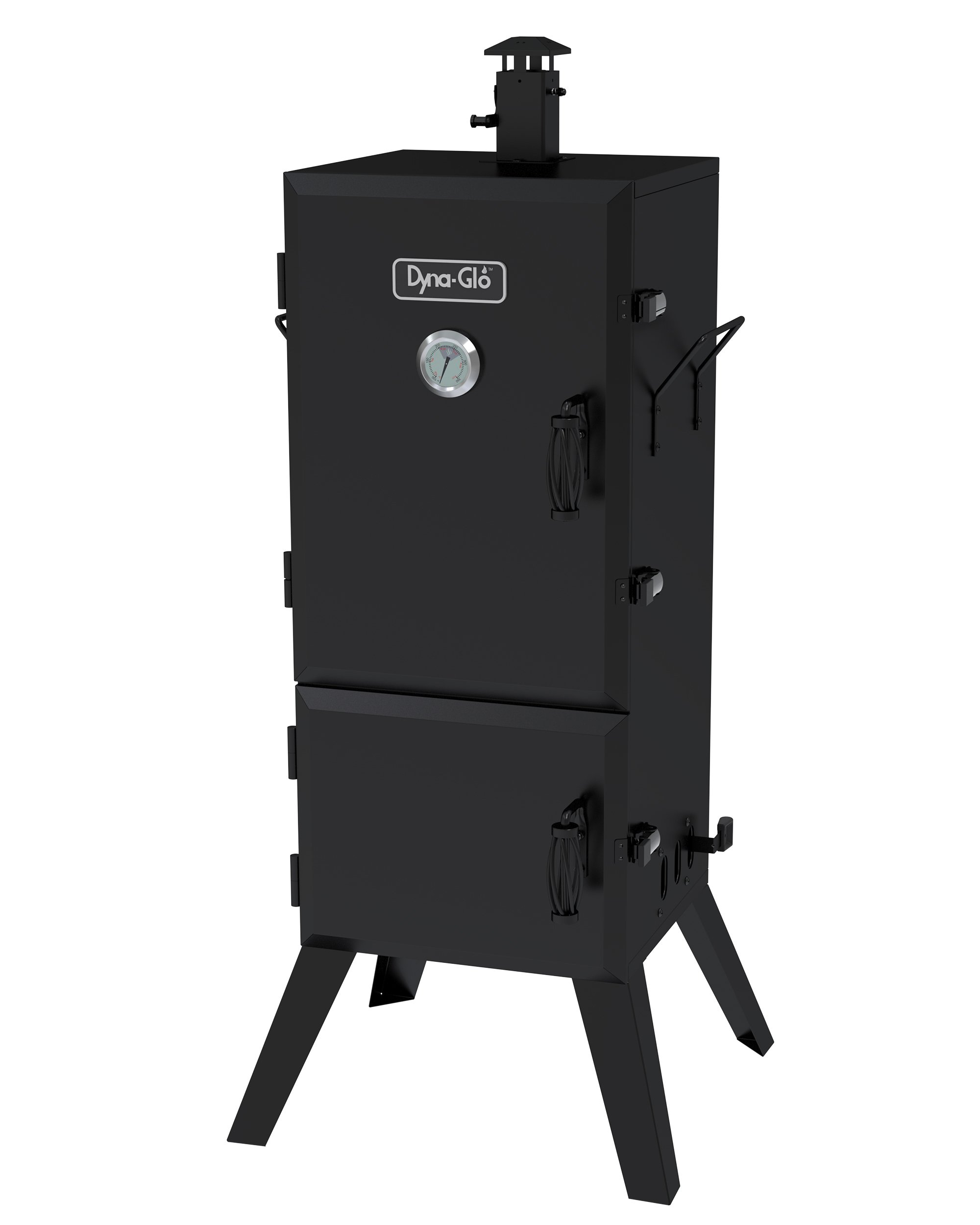Dyna-Glo DGX780BDC-D 36'' Vertical Charcoal Smoker by Dyna-Glo