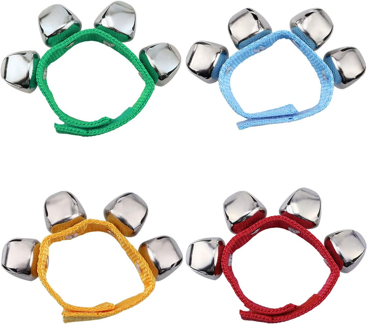 2Pcs Baby Wrist Bracelet Bell Hand Rattle Children Dancing Music Educational Toy High Quality