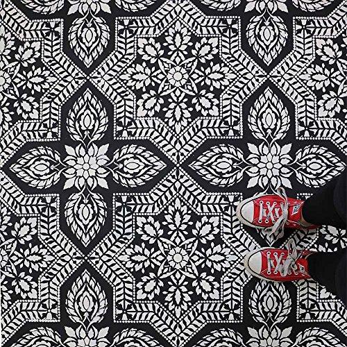 - Alhambra Tile Allover Stencil - Cement Tile Stencils - DIY Moroccan Tiles - Reusable Stencils for Home Decor
