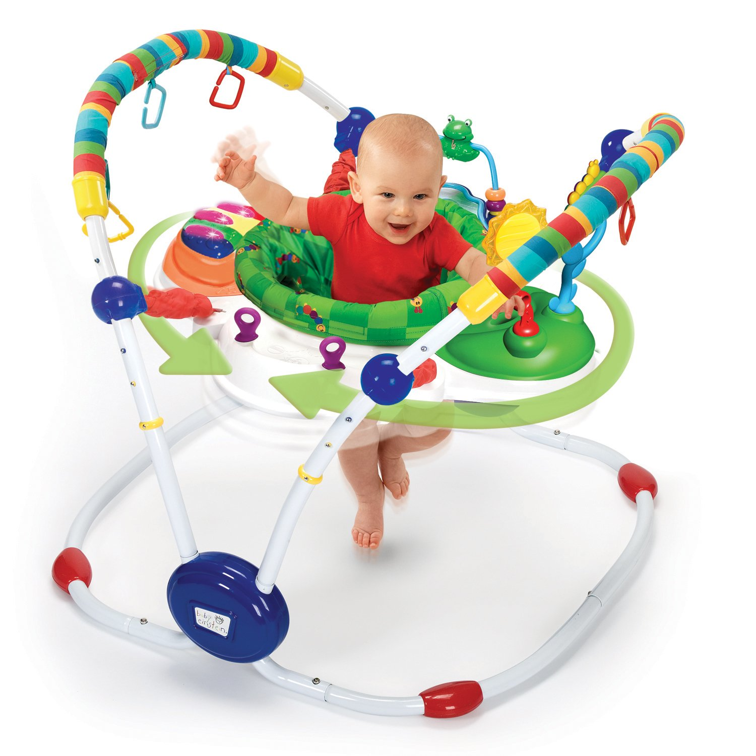 Amazon Baby Einstein Musical Motion Activity Jumper Green