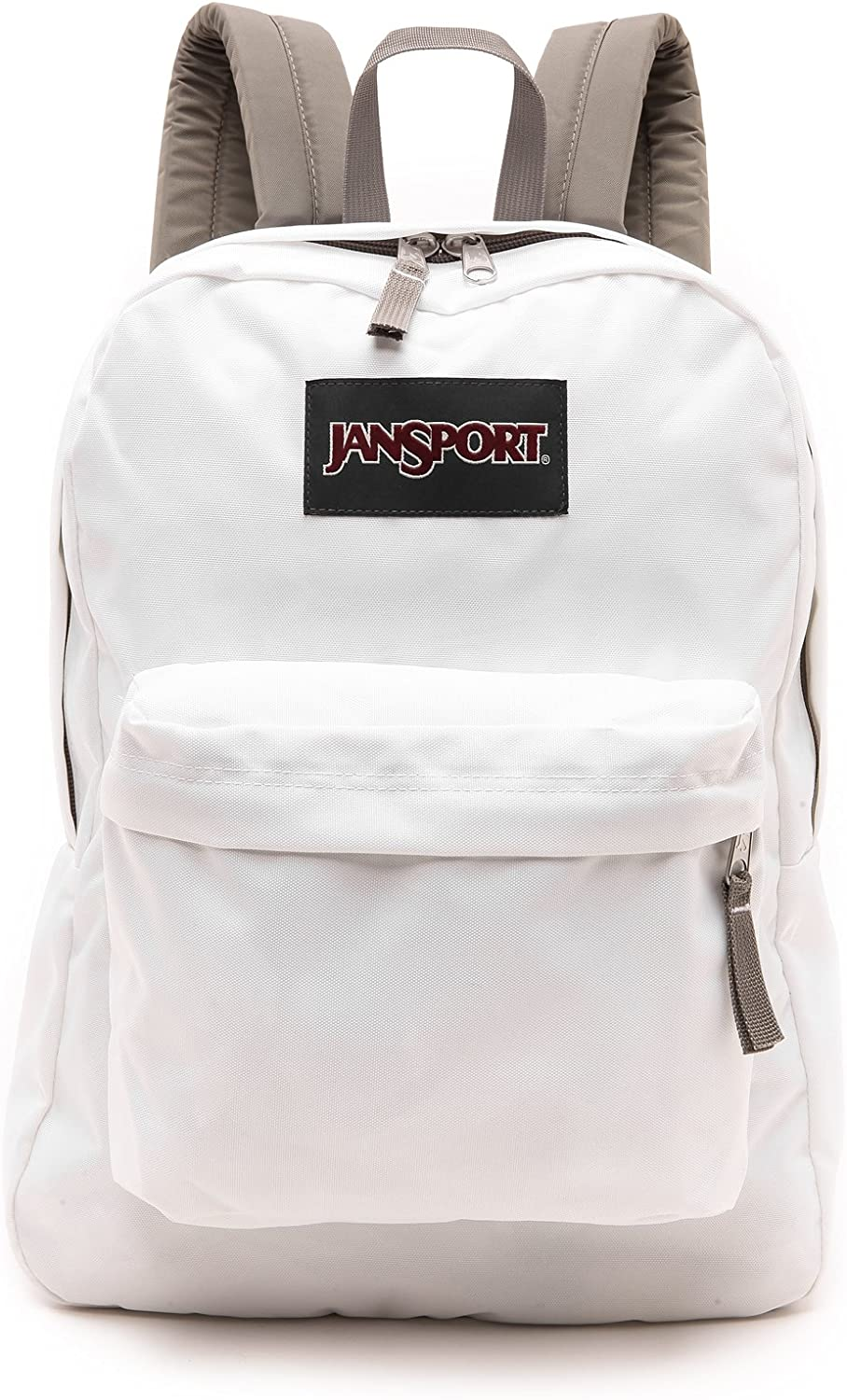 JanSport Superbreak Backpack White Grey