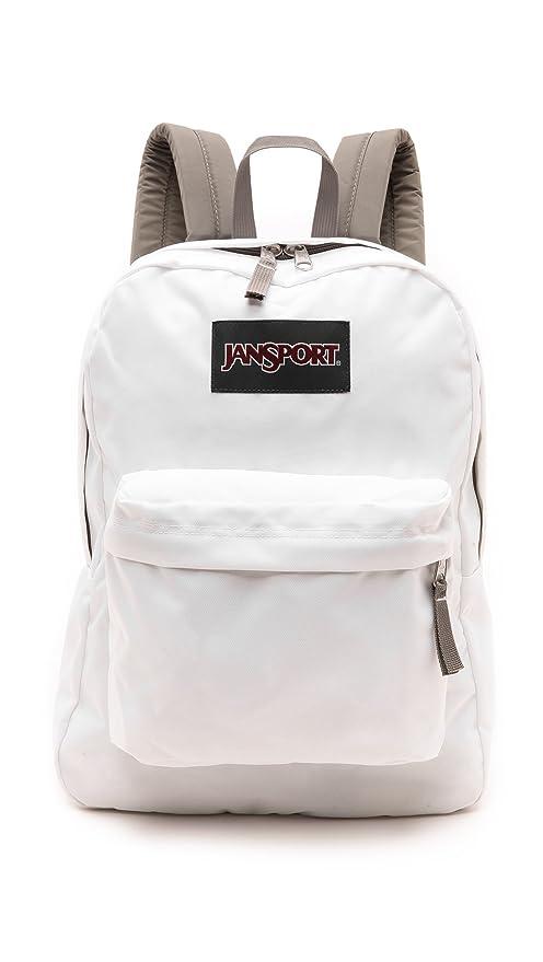 new season popular style best selection of 2019 JanSport Superbreak Backpack (White/Grey)