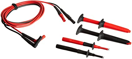 Crescent Enterprises Fluke Tl223 1 Suregrip Electrical Test Lead Set With Suregrip Insulated Test Probes
