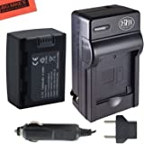 Replacement IA-BP105R Battery and Battery Charger for Samsung HMX-F80, HMX-F80BN, HMX-F80SN, HMX-F90, HMX-F90BN, HMX-F90WN, HMX-F800, HMX-F900, HMX-F900WN, SMX-F50, SMX-F50BN, SMX-F53, SMX-F54, SMX-F500, SMX-F501, SMX-F530, SMX-F70, SMX-F700, HMX-H300, HMX-H300BN, HMX-H303, HMX-H304, HMX-H305, HMX-H320 Camcorder