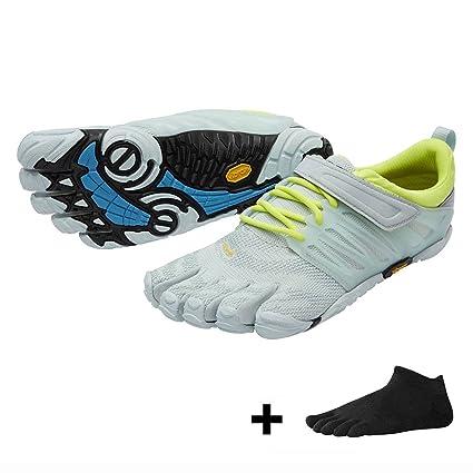 Vibram FiveFingers V de Train Women – Fitness – Juego de entrenamiento de diez Zapatos Calcetines