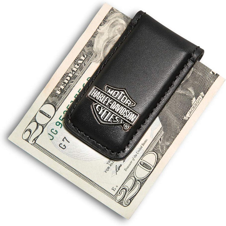 Sculpted Bar /& Shield medallion 99452-06V Harley Davidson Accessories Harley-Davidson Mens Bar /& Shield Money Clip