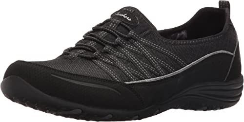 New Style Skechers Unity Go Big Sneakers Black Womens