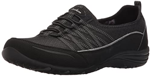 Unity-Eternal Bliss, Entrenadores para Mujer, Negro (Black/Charcoal), 35 EU Skechers
