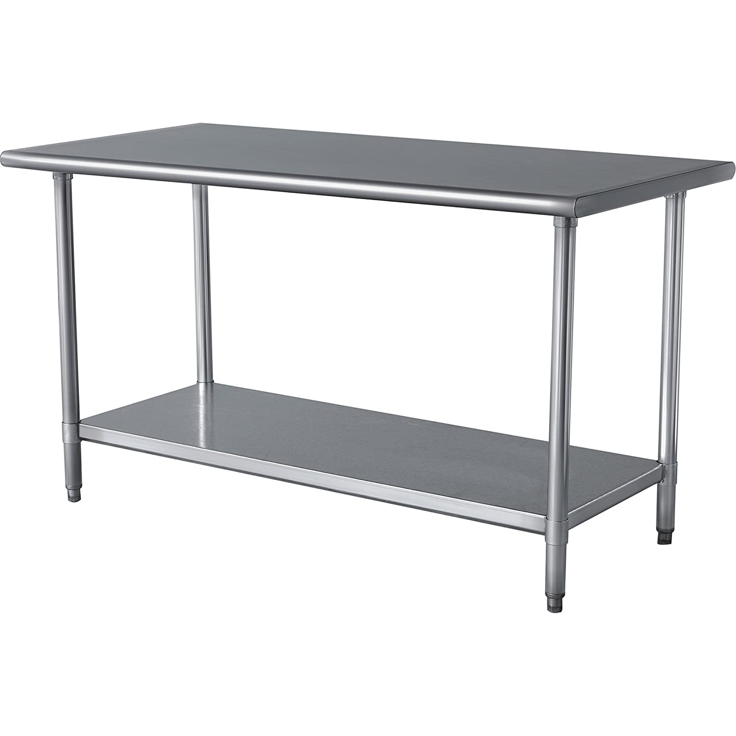 Amazon.com : Sportsman SSWTABLE 48 Inch By 24 Inch Stainless Steel Work  Table : Ss Table : Patio, Lawn U0026 Garden