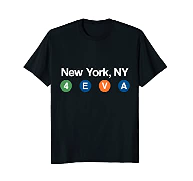 Amazon.com  NYC Subway t Shirt (New York Men  0a18c78ae9b