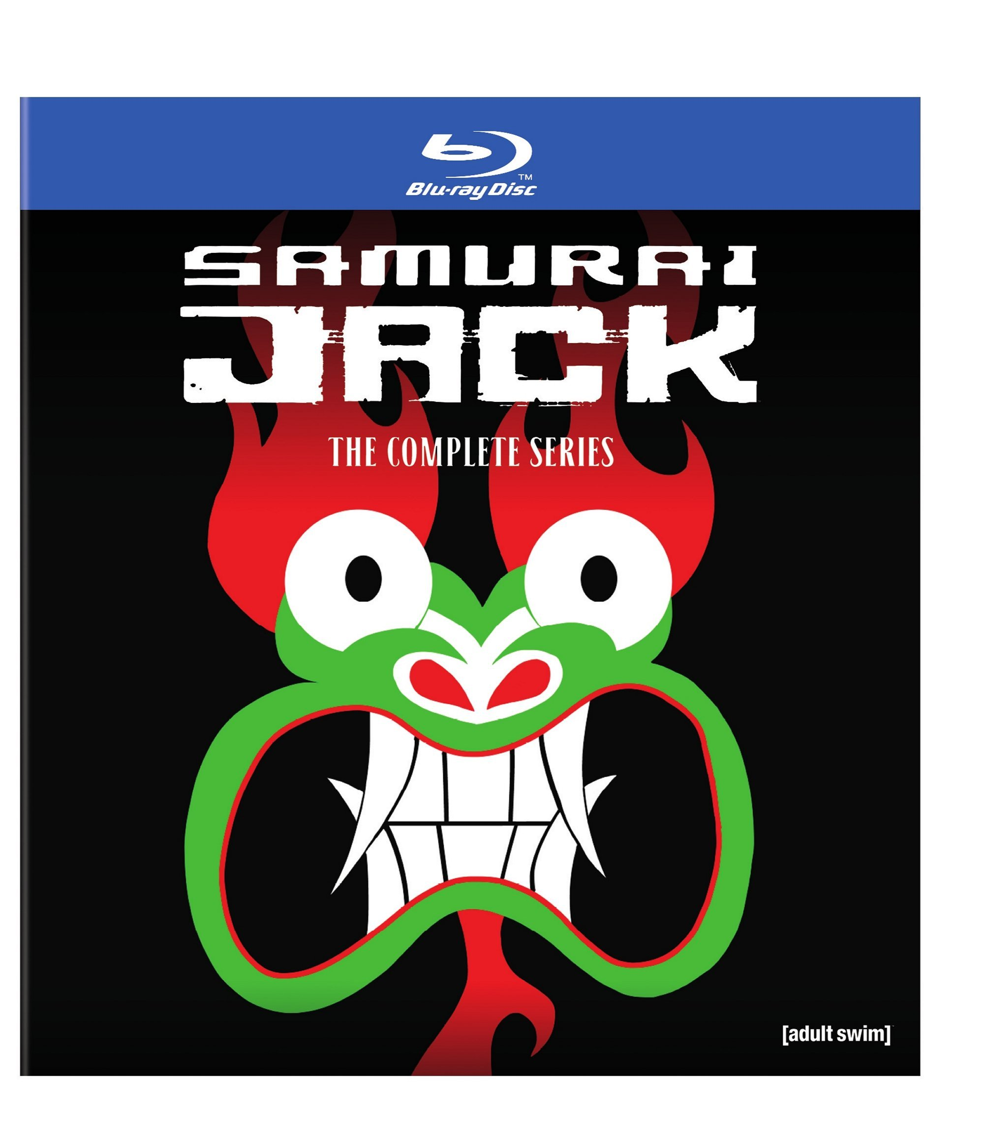 Samurai Jack: The Complete Series Box Set (BD) [Blu-ray] by WarnerBrothers