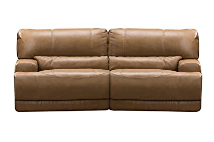 Hamlin Power Reclining Leather Sofa