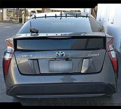 2016 2017 2018 Toyota Prius Prime 4door Rear Roof Fin Vortex Diffuser Black