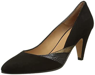 Blythe, Escarpins Femme, Noir (Suede Black/Bronze), 36 EUEmma Go